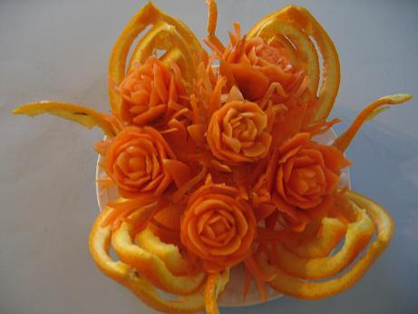 سبد پرتقال
