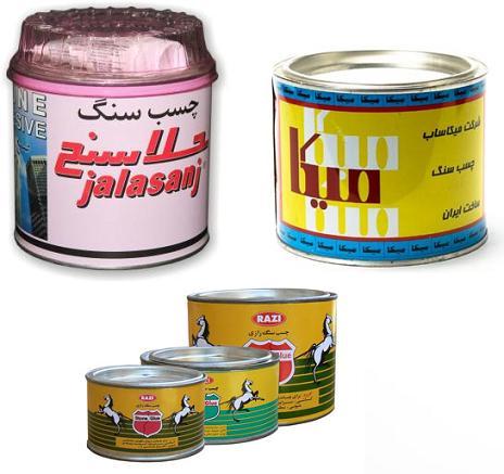 فروشگاه ایران - انواع چسبچسب سنگ