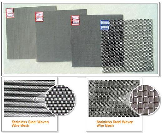 توری استیل (stainless steel wire screen)